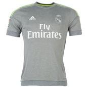 Real Madrid Grey/Green shirt