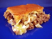 Meat and Cabbage Pie