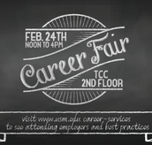 Career Fair 2016 hosted by Career Services