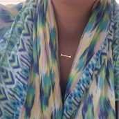 The Union square scarf- Pastel Ikat