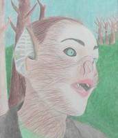 A 'Self Portrait' I did for an Art class