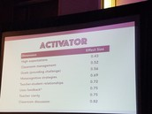 Be an Activator of Knowledge not a Facilitator
