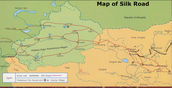 Follow the silk road maze
