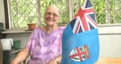 Tessa Mackenzie was the designer of the Fiji's flag but was disappointed by prime minister Frank Bainimarama's plan to replace it.