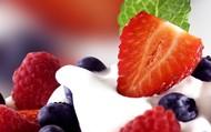 mmm...strawberries and cream