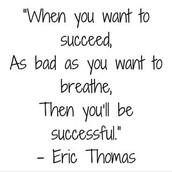 My inspiring quote.