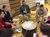 St. Labre drum circle