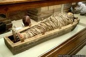 A mummy from Ancient Egypt