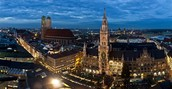 Eine Stadt, das wie haben nicht besucht, aber wollen, ist München!