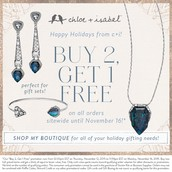 Buy 2, get 1 FREE promotion begins Thursday at 11:00 am, CST!