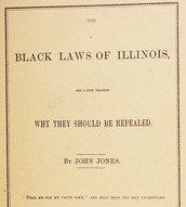 A document that is against the Black Codes