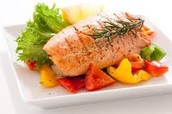 Our salmon is pungent, and flavorful. It is delicious and amazing!