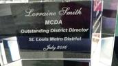 Lorraine Smith, MCDA Choir Director of the Year