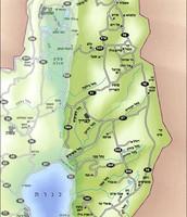 מפה עם הערים
