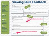Check Your Quiz Feedback