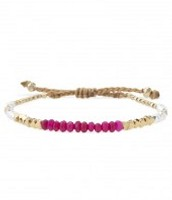 Foundation bracelet pink - £12.50