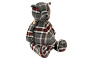 Tartan Teddy Bear Door Stop