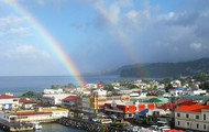 Rainbows in Dominica