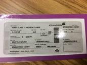 Tickets were printed