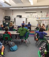Duke football players answer lots of questions