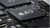 The A9 chip found in new Apple devices (2015).