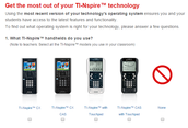 NEW | TI-Nspire™ CX technology 4.2 update