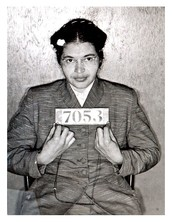 Rosa Parks and what she is known for.