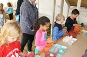 Farm Chores:  Egg Collecting