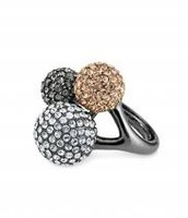 Soiree trio ring adjustable- SOLD