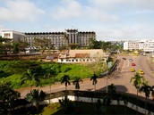 une rue au Cameroun