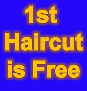 free first haircut