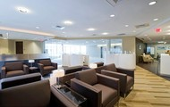 Lush & Spacious Business Lounge!