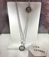 Over The Heart Chain with Link Locket