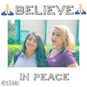 Believe in peace