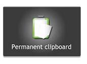 Permanent Clipboard