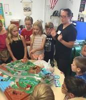 Sanitation District Visits Peter Winkler's Class (MES)