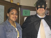 Super Hero Regn and Jomanni at the Renaissance Rally