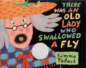"""""""There Was an Old Lady Who Swallowed a Fly"""" by Simms Taback"""