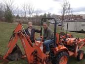 Digging duo!