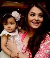 Aishwarya Rai et son bébé
