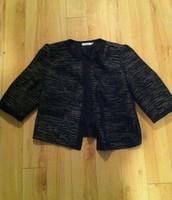 3. Rickis XL Tweed Jacket with Cropped Sleeves