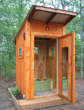 Brown Outhouses