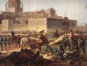 Scene from a battle