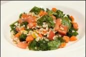 Veggie Barley Salad