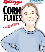 127. Corn Flakes Box