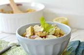Salade crispy con queso