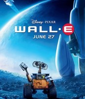 The cover for the movie WALL-E.