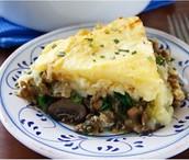 Recipe! Lentil and Mushroom Shepherd's Pie