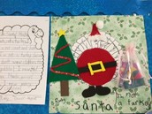 Santa Claus Turkey by Ruby
