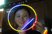 Theres unlimited use of glow sticks